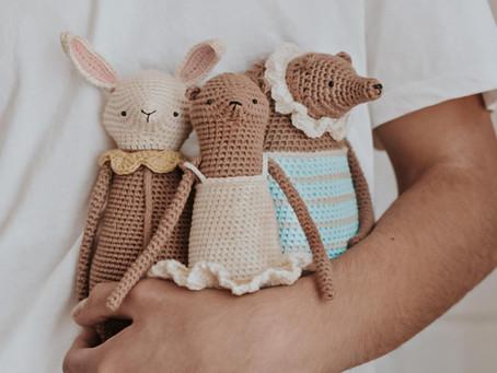 El Príncipe del Crochet, un amante de los amigurumis