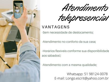 BENEFÍCIOS DO ATENDIMENTO TELEPRESENCIAL