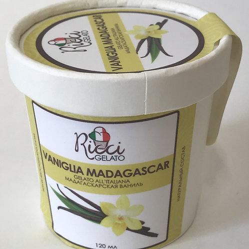 Vaniglia Madagascar (мадагаскарская ваниль,стаканчик 120 мл с ложкой)
