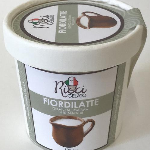 Fiordilatte  (мороженое сливочное фердилатте, стаканчик 120 мл с ложкой)