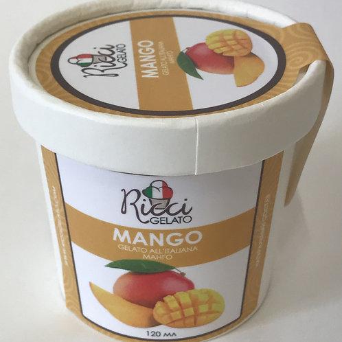 Mango  (стаканчик 120 мл с ложкой)