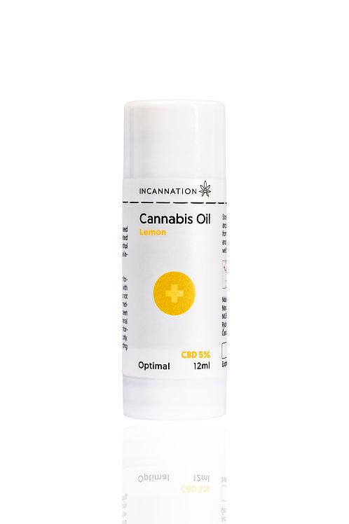 Olejek CBD Incannation 5% Lemon