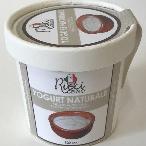 Yogurt Naturale (с натуральным термостатным йогуртом, стаканчик 120 мл с ложкой)