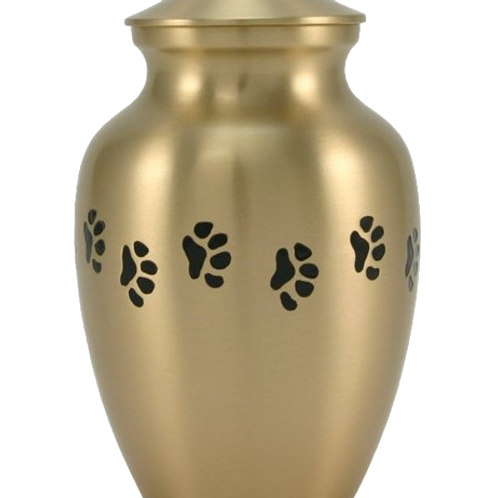 Timeless Brass Urn