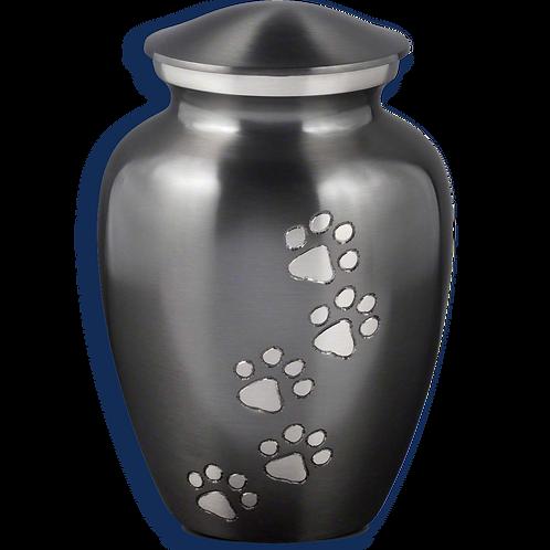 Pewter Paws Pet Urn