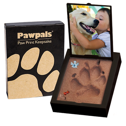 Paw Print 3D Impression with Photo Frame