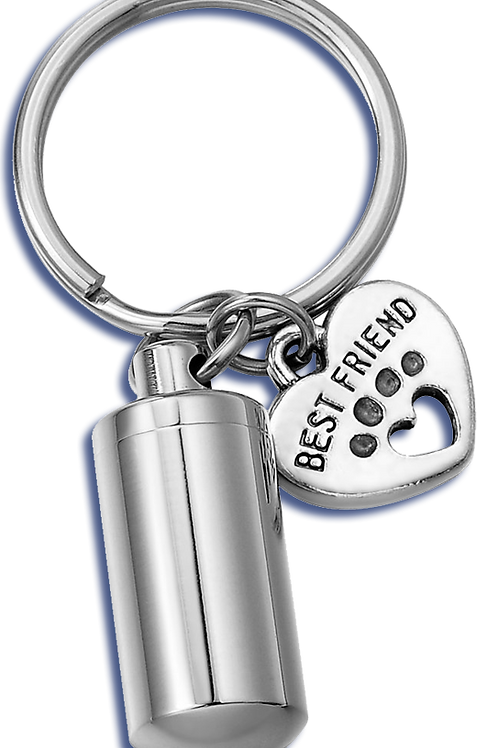 Keychain Urn for pets - Best Friend