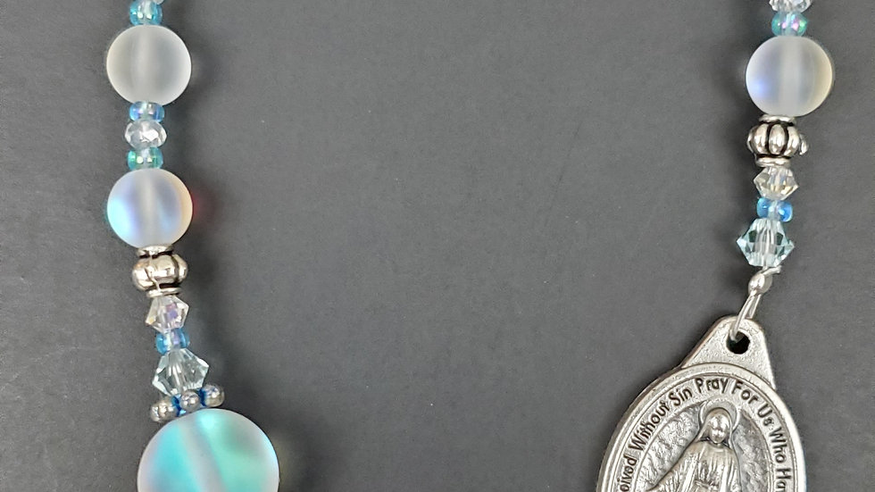Opal Glass Chaplet