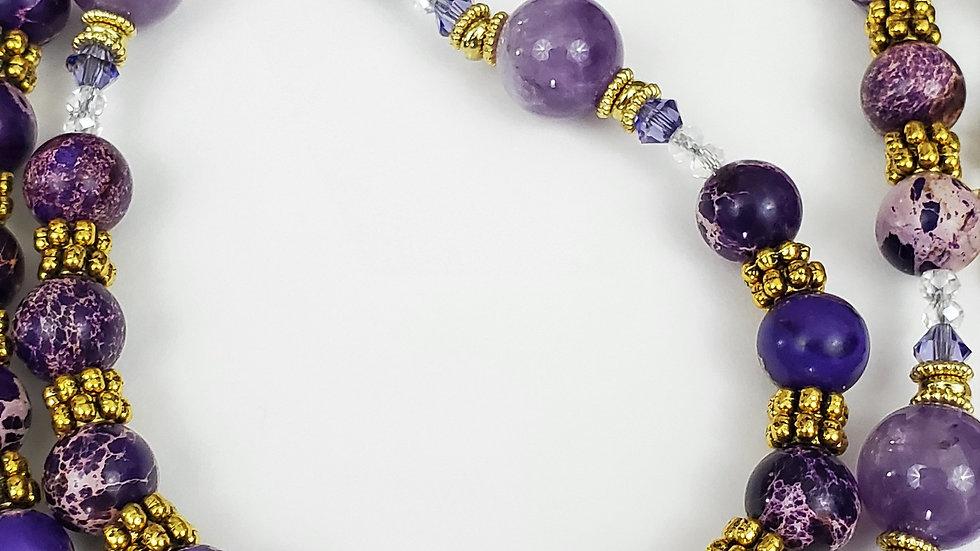 Purple Jasper Amethyst