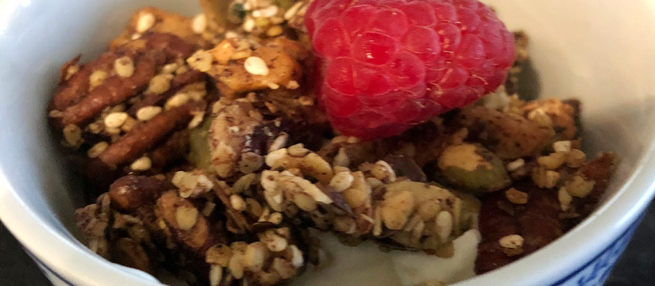 Low Carb  Nutty Granola