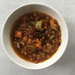 Insta Soul Satisfying Lentil Soup