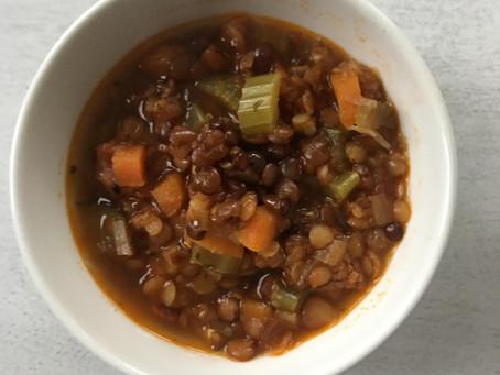 InstaSoul Satisfying Lentil Soup