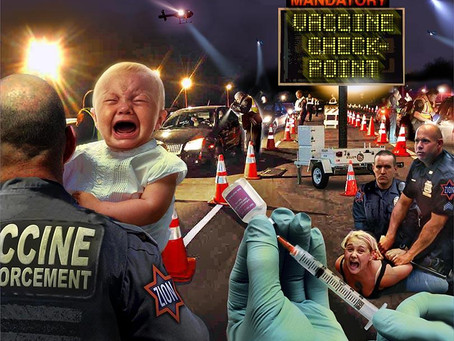 Mandatory Vaccine Checkpoints Coming To A Town Near You