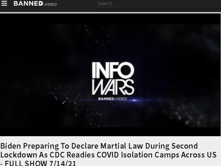 Biden Preparing To Declare Martial Law During Second Lockdown As CDC Readies COVID Isolation Camps