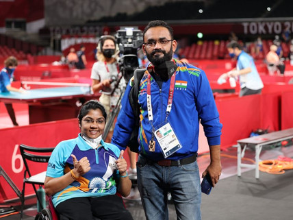 India's Bhavina Patel reaches final of table tennis event,  gold medal match on Sunday