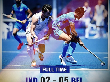 Gold dreams crushed as India lose semifinal to Belgium, fail to reach men's hockey final