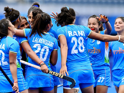 Indian Women's Hockey Team beat Australia 1-0 to reach Tokyo Olympics semifinals for the First Time