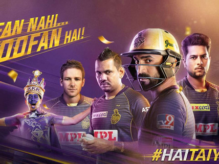 Kolkata Knight Riders off to UAE, to kick off their IPL-II campaign in high spirits