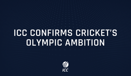 ICC targets 2028 LA Olympics for cricket's inclusion as ICC confirms cricket's Olympic ambition