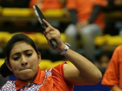 Sonalben Patel goes down by 2-3 to China's Li Q In Group D Opener