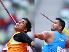 Devendra Jhajharia Wins Javelin Silver Medal, Sundar Singh Gurjar wins bronze in men's javelin throw