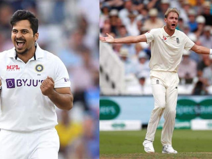 Injury scare for both teams, Shardul Thakur, Stuart Broad suffer injuries, Doubtful for Lord's Test