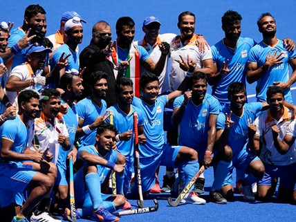 Tokyo 2020:India defeat Germany 5-4 to ends medal drought at Olympics after 41 years,Clinches Bronze