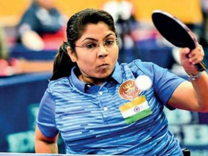Bhavinaben Patel Loses  in straight sets against China's Zhou Ying