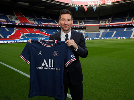It's official: Lionel Messi signs two-year deal with Paris Saint-Germain
