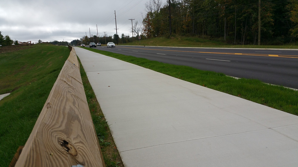 Trimble Road Walking Path