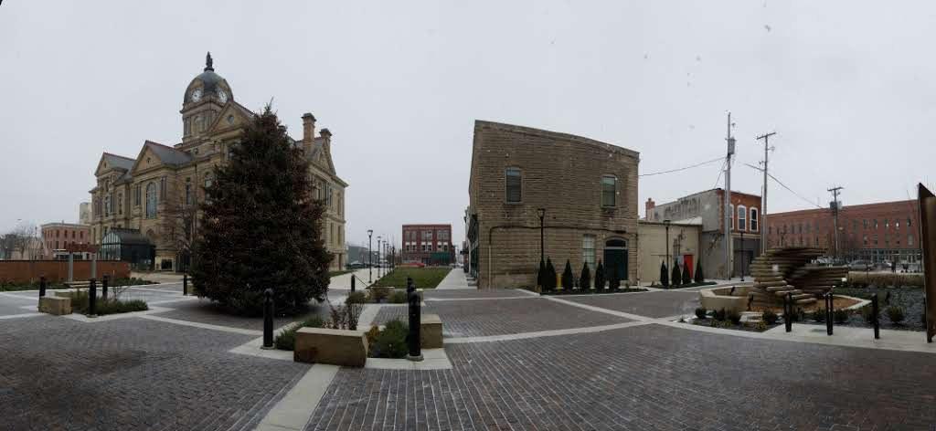 Brick Work at Dorney Plaza