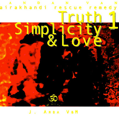 Truth, Simplicity & Love CD di bhajans da Hairakhan