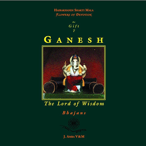 Ganesh The Lord of Wisdom libro con CD