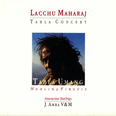 Tabla Umang tabla di Lacchu Maharaj libro con CD