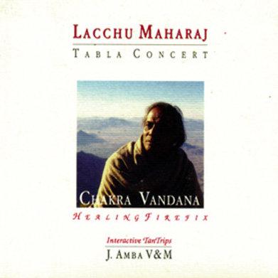 Chakra Vandana tabla di Lacchu Maharaji libro con CD