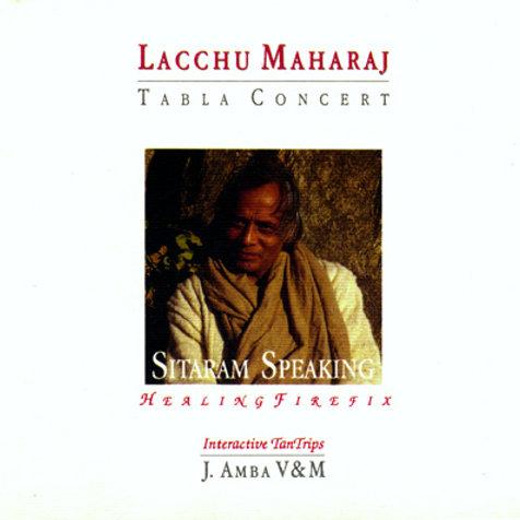 Sitaram Speaking tabla di Lacchu Maharaj libro con CD