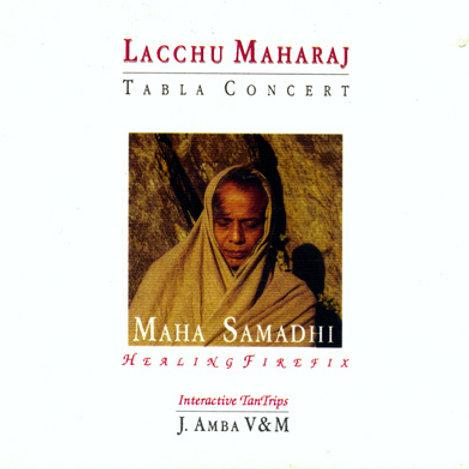 Maha Samadhi tabla by Lacchu Maharaj libro con CD