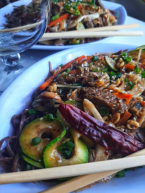 Soba Noodles and Beef Stir Fry