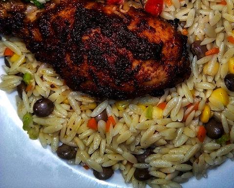 Oven Jerk Chicken