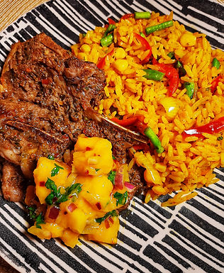 Smoky Vege Fried Rice