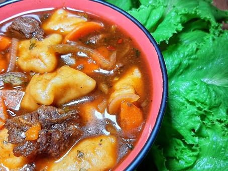 Beef and Dumplings Stew