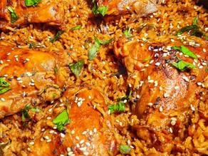 Thai Basil Chicken & Basmati Rice (one pot)