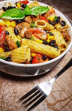 Chicken and Black Bean Pasta Salad