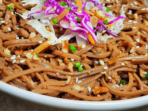 Korean Beef Noodle Bowl (my version)