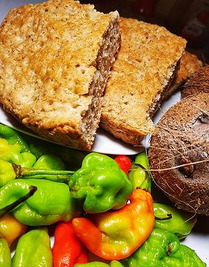 Coconut Bran Bake