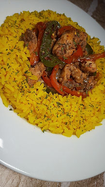 Chicken & Peppers