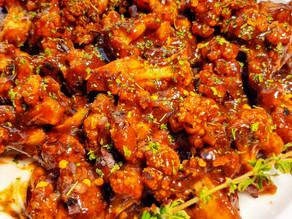 Hickory BBQ Cauliflower Bites