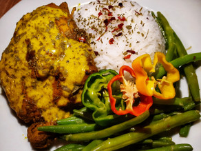 Tumeric Chicken with Coconut Sauce