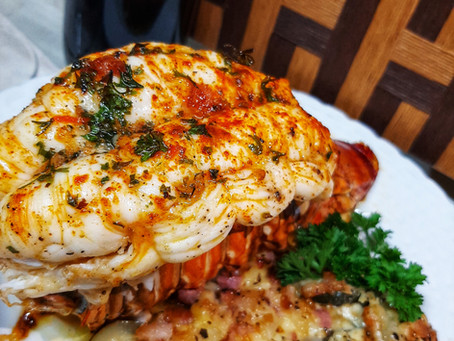 Oven Baked Lobster