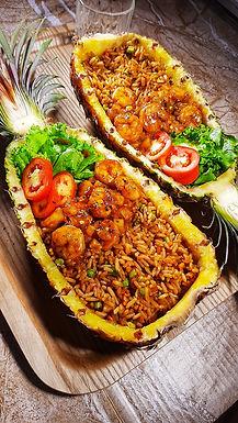 Pineapple Shrimp & Fried Rice